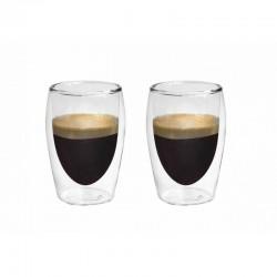 Stiklinės su dvigubomis...