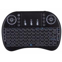 Apšviesta belaidė klaviatūra